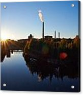 Nokia Paper Mill Acrylic Print