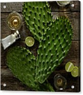 Nopales And Tequila Acrylic Print