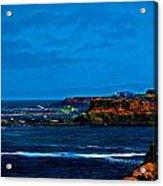 Nor Cal Seascape Acrylic Print