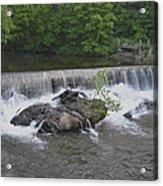 Nora Mill Dam - Chattahoochee River Acrylic Print