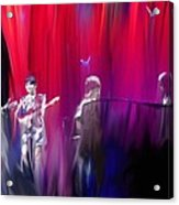 Norah Jones On Stage Acrylic Print