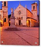Norcia Umbria Acrylic Print