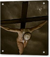Nordic Crucifix Acrylic Print
