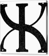 Nordic Rune Gilch Acrylic Print