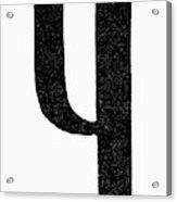 Nordic Rune Kinda Acrylic Print