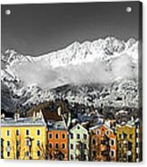 Nordkette Acrylic Print