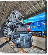 Norfolk And Western 1218 And 1776 Acrylic Print