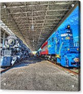 Norfolk And Western 1776 And 1218 Acrylic Print