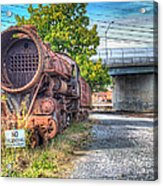 Norfolk And Western Class M2c  No 1151 Acrylic Print