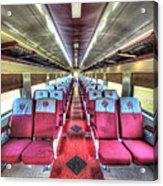 Norfolk And Western Passenger Coach Acrylic Print