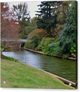 Norfolk Botanical Gardens Canal 3 Acrylic Print