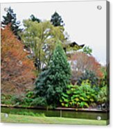 Norfolk Botanical Gardens Canal 9 Acrylic Print