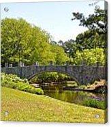 Norfolk Botanical Gardens In Color Acrylic Print