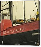 Norfolk Rebel Acrylic Print