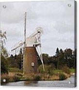 Norfolk Windmill Acrylic Print