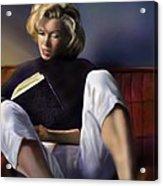 Norma Jeane Baker Acrylic Print by Reggie Duffie