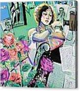 Norma Shearer Acrylic Print