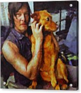 Norman And Charlie  Acrylic Print