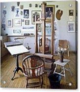 Norman Rockwell Studio Acrylic Print