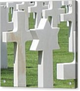 Normandy American Cemetery Acrylic Print