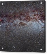 North America Nebula The Milky Way From Cygnus To Perseus And Andromeda Galaxy Acrylic Print