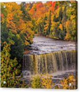 North America, Usa, Upper Peninsula Acrylic Print