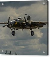 North American B-25j Mitchell Acrylic Print by Puget  Exposure