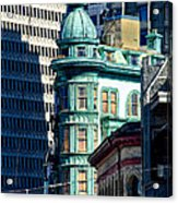 North Beach Victorian - San Francisco Acrylic Print