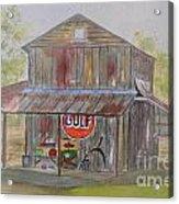 North Carolina Barn Acrylic Print
