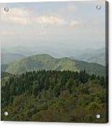 North Carolina Blue Ridge Mountains Acrylic Print