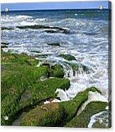 North Carolina Coastal Rocks Acrylic Print