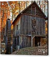 North Carolina Grist Mill Photo Acrylic Print