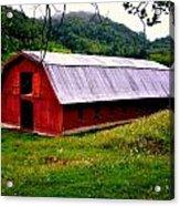 North Carolina Red Barn Acrylic Print