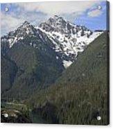 North Cascades Landscape Acrylic Print
