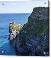 Photographs Of Cornwall North Coast  Cornwall Acrylic Print