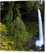 North Falls Panorama Acrylic Print