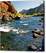 North Fork Of The Shoshone River Acrylic Print