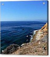 North From Palos Verdes Acrylic Print