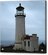 North Head Lighthouse At Cape Disappointment Acrylic Print