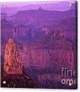 North Rim Grand Canyon Acrylic Print