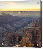 North Rim Sunrise Panorama 2 - Grand Canyon National Park - Arizona Acrylic Print