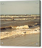 North Sea Coastal Line 1. Holland Acrylic Print