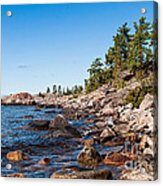 North Shore Of Lake Superior Acrylic Print
