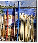 North Shore Surf Shop Acrylic Print