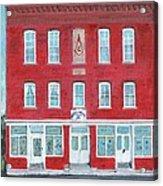 North Star Lodge Acrylic Print