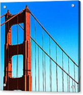 North Tower Golden Gate Acrylic Print