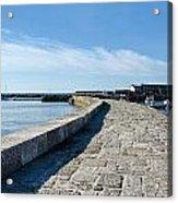 North Wall - Lyme Regis Harbour 2 Acrylic Print