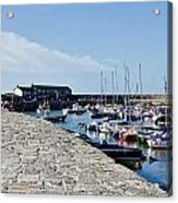 North Wall - Lyme Regis Harbour Acrylic Print