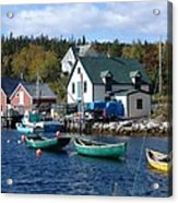 North-west Cove Acrylic Print
