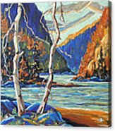 North West Lake By Prankearts Acrylic Print
